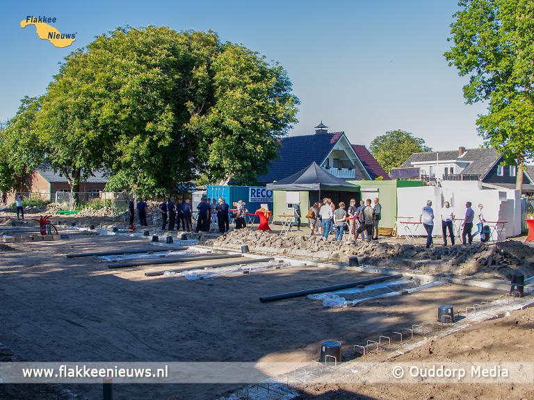 Foto behorende bij Start bouw VRR-brandweerkazerne Ouddorp