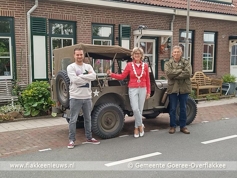 Foto behorende bij Een attentie voor veteranen op Goeree-Overflakkee