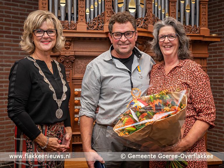 Foto behorende bij Koninklijke onderscheiding voor Thijs de Jong uit Ouddorp