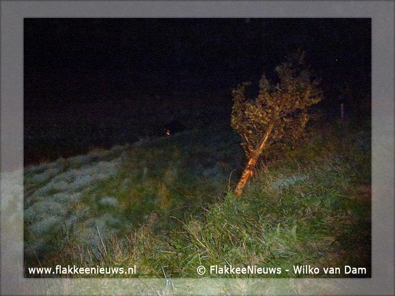 Foto behorende bij Auto te water nabij Nieuwe-Tonge