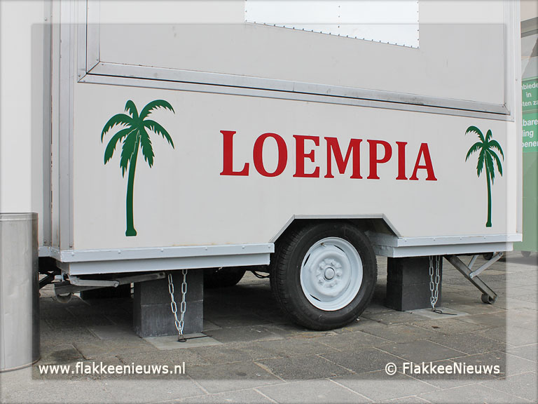 Foto behorende bij Loempiakraam beter bestand tegen vandalisme