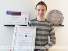 Foto behorende bij Meest ondernemende MBO student van Rotterdam Rijnmond