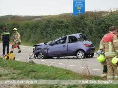 Foto behorende bij Vrouw ernstig gewond bij ongeval Brouwersdam