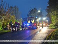 Foto behorende bij Frontale botsing met tractor in polder Dirksland