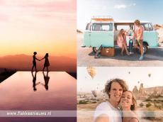 Foto behorende bij Filmpje van Flakkeese reisbloggers een hit op internet