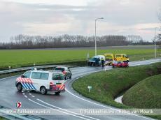 Foto behorende bij Twee gewonden bij ongeval op N215