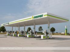 Foto behorende bij Greenpoint tankstation opent pompen in Oude-Tonge