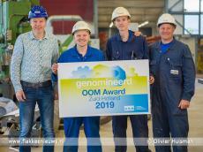 Foto behorende bij Scheepsbouwer Padmos genomineerd voor OOM Award